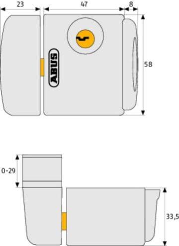 ABUS Fenster-Zusatzschloss FTS3003 kaufen