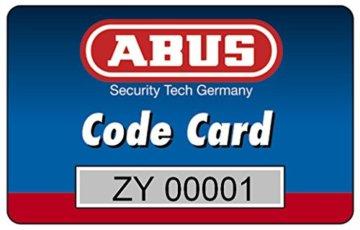 ABUS Profil-Zylinder D6XNP 30/35 mit Codekarte und 5 Schlüsseln, 48298 - 2
