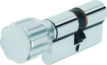 ABUS Profil-Zylinder K82N 30/30 mit Knauf 00503 - 1