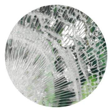 atFoliX Einbruchschutzfolie FX-Clear-12mil-Indoor (122 cm * 1 lfm) - 2