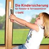 ISI SAFE - die Kindersicherung für Fenster - ohne Bohren! - 1