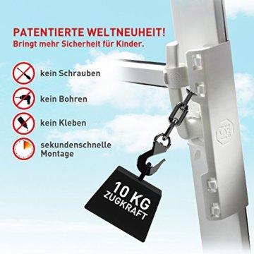 ISI SAFE - die Kindersicherung für Fenster - ohne Bohren! - 2