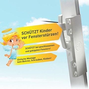 ISI SAFE - die Kindersicherung für Fenster - ohne Bohren! - 3