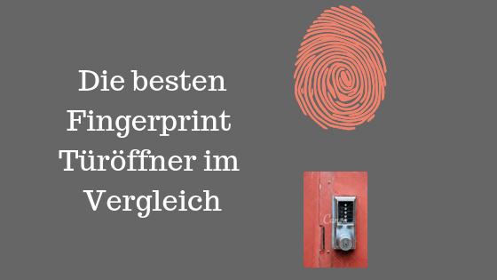 Fingerprint Türöffner Test