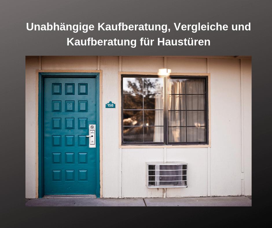 Sehr Haustür Test 2019 | Die besten 7 Haustüren im Vergleich WL21