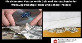Unauffällige Geldverstecke